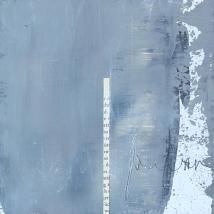 buchstäblich wortlos IV, 15 x 15 cm